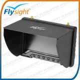"""A824 Black Pearl 7"""" Fpv LCD Monitor with Diversity Function for Groud Station Best Choice for Drone Dji Phantom Vision"""