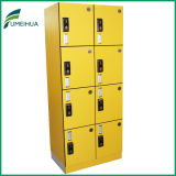 Yellow Color Hotels Lockers Cabinet for Staff Clothing