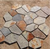 Natural Multicolor Slate Flagstone Pattern (SMC-R045)