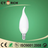 Ctorch High Quality LED Tail Candle Bulb with Ce/RoHS 6W
