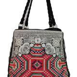 Fashion Women Fabric Handbag with Embroidery