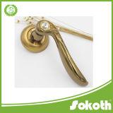 Beauty Diamond Golden Door Handle
