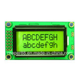 Monochrome 8X2 LCD 0802 COB LCD