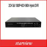 2CH Sdi 1080P+8CH 960h Hybrid DVR