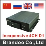 4CH SD Card School Bus Mobile DVR