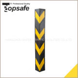 800mm Black Rubber Corner Protector with Reflective Tape