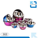 Popular Style Stainless Steel Mixing Bowls and Salad & Soup Bowls