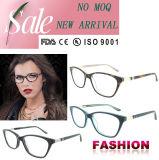 Optical Frame Popular Fashion Reading Glasses Handmade Acetate Eyewear with Ce and FDA