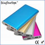 10000mAh Slim Metal Power Bank with 2 USB Output (XH-PB-241)