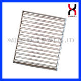 Magnet Bar Filter Single Layer Rectangle Magnetic Grate