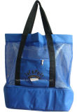 Polyester Cooler Tote for Wet & Dry Storage