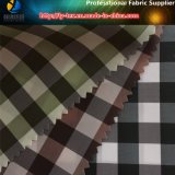 Wholesale Polyester Popular Check Textile Windproof Fabric for Garment (X035-37)