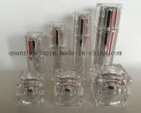 OEM Acrylic Cream Jar Lotion Cosmetic Perfume Bottle Set
