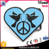 Adjustable Alloy Customized Heart Shape Belt Buckles for Belts