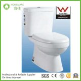 One Piece Closet S-Trap Rounging-in Ceramic Wc Watermark Toilet