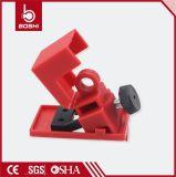Master Breaker Lock Clamp on Rugged Polypropylene Breaker Lockout Bd-D11