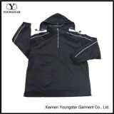 Wholesale Men ′s Fashion Athletic Jacket with Nylon Taslon