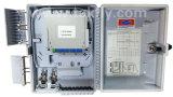 FTTX 2 Input Cables 16 Cores Fibre Optic Splice Cassette