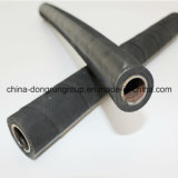 Flat Steel Spiral, Steel Wire Mesh Reinforced. Oil and Grease Resistant Rubber Hose