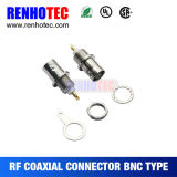 Bulkhead Panel Mount RF Connector Female BNC Connector