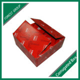 Red Color Printed Corrugated Carton in China