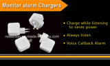 Mini GSM SIM Card Ear Bug USB Wall Charger Voice Activated Listening Device
