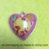 Heart-Shaped Printed Fancy PP Plastic Solid Blister Tray