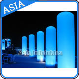 Outdoor Inflatable LED Tube Light, Inflatable Advertising Tube, Inflatable Lighting Decoration, Indoor Decorative LED Inflatable Pillar Advertising Inflatable