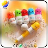 Creative Stationery Cute Expression Pill Telescopic Capsule Pen