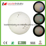 New White Ceramic Ball with Color Changing LED Light for Home Decoration