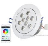 Wireless Smart RGBW LED Downlight 36W