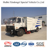 7CBM Dongfeng Euro4 Garbage Suction Road Sweeper Truck