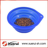 Home Use Camping Collapsible Silicone Pet Bowl