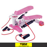 Body Shaping Fitness Twist Stepper with Ropes