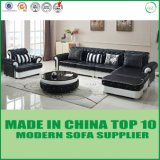 Home Furniture Modern Wooden Leather Sofa