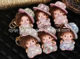 Wholesale Monchhichi Monchichi Keychain Soft Real Rabbit Fur