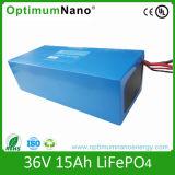 36V 15ah LiFePO4 Rechargeable Battery for E-Bike