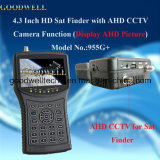 Portable 4.3 Inch HD Sat Finder Display Ahd Picture