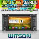 Witson S160 For Toyota RAV4(2001-2008)/COROLLA(2000-2006 Car DVD GPS Player with Rk3188 Quad Core HD 1024X600 Screen 16GB Flash 1080P WiFi 3G Front DVR(W2-M071)