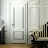 Oppein Modern Fashion White MDF Swing Interior Wooden Door (MSPD49)