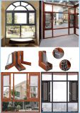 G&C Fuson Thermal Break Aluminium Casement Window with Mosquito Net