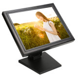 "1503m 15 Inch POS Connect Use 15"" Resistive 4 / 5 Wires LED Touch Screen Computer Monitor"