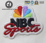 New Colorful Numbers Logo Sports Customized 3D Embroidery