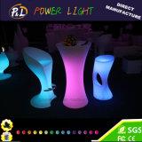 Plastic Bar Furniture LED Bar Table&Ice Bucket