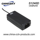 12VDC 4AMP 48W Ce Approved CCTV Power Supply (S1240D)