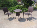 Outdoor Rattan Wicker 2 Seat Chairs with Coffee Table (FS-2011+2012)