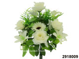 Artificial/Plastic/Silk Flower Rose/Lily/Gerbera Mixed Bush (2918009)