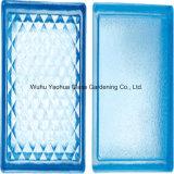 Blue Colored Glass Block Brick