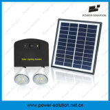 Solar Energy Lighting System with Phone Charger for Home and Camping