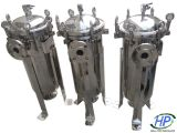 Stainless Steel Bag Filter Housing for Water Treatment Purification